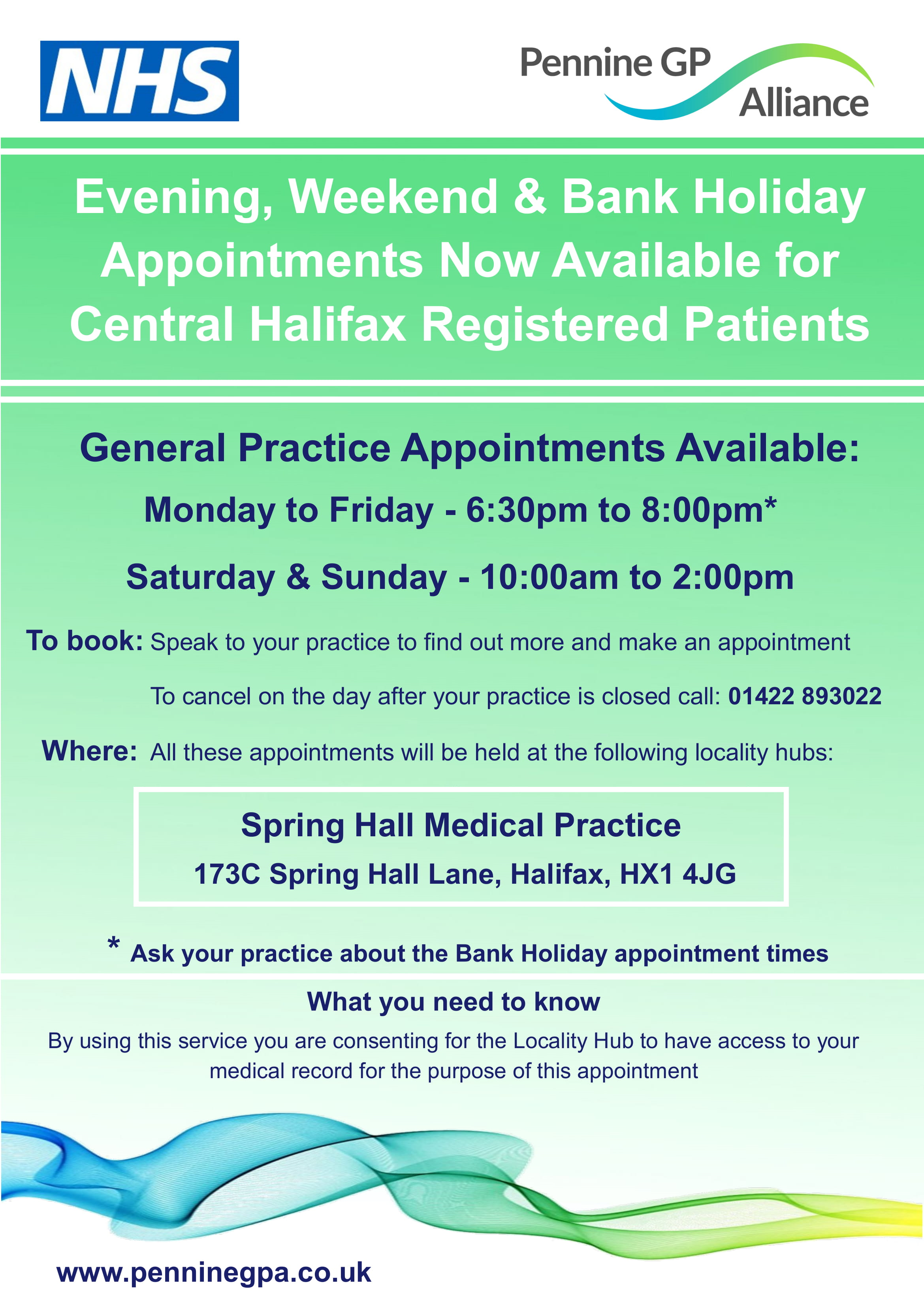 Central Halifax Practices